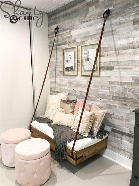 Diy-Hanging-Bench
