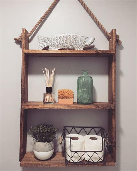 Diy-Hanging-Ladder-Shelf