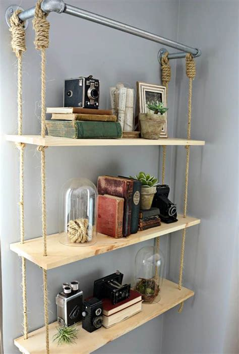 Diy-Hanging-Shelves-Pinterest