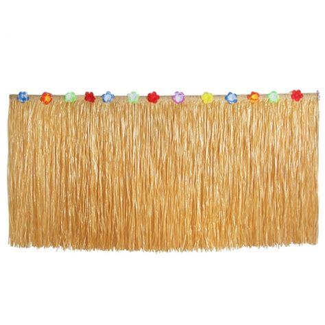 Diy-Hawaiian-Table-Skirt