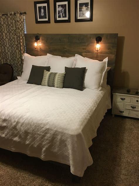 Diy-Headboard-With-Lamps