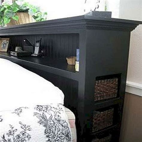 Diy-Headboard-With-Storage-Plans