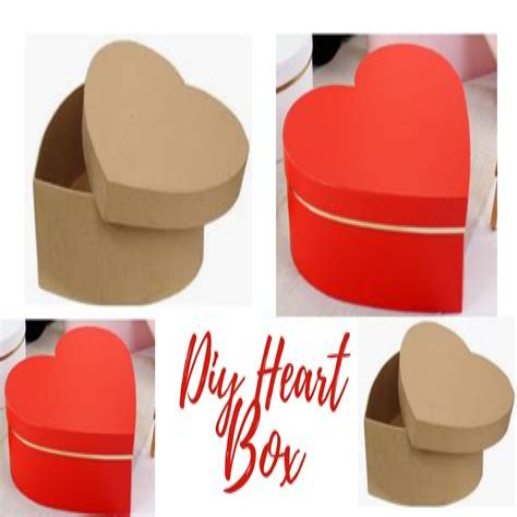 Diy-Heart-Shaped-Paper-Box