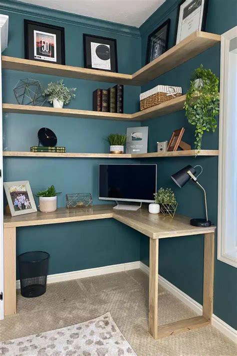 Diy-Herringbone-Corner-Desk