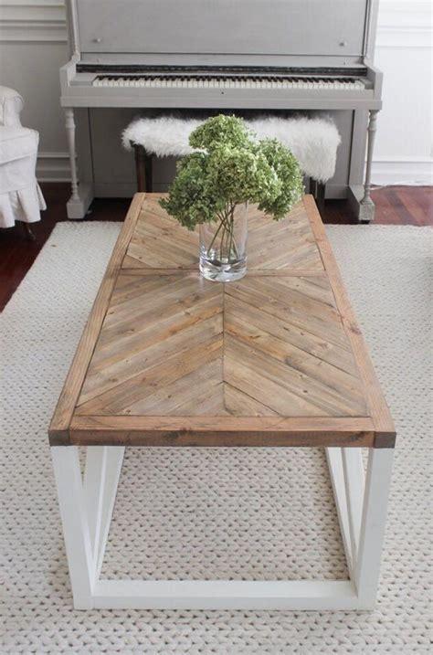 Diy-Herringbone-Table