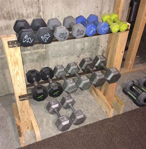 Diy-Hex-Dumbbell-Rack