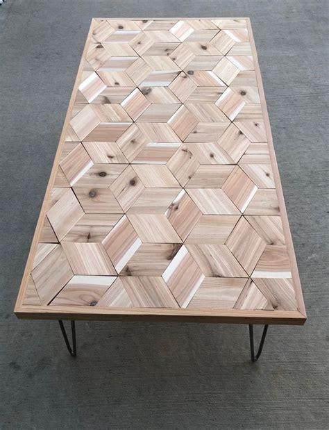 Diy-Hexagon-Coffee-Table