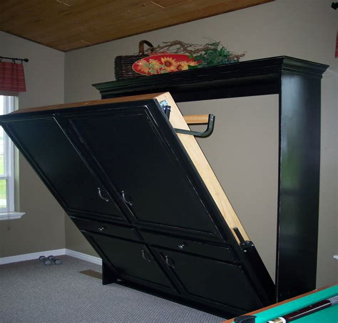 Diy-Hidden-Bed-In-A-Cabinet-Plans