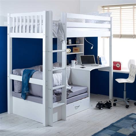 Diy-High-Sleeper-With-Desk