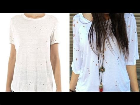 Diy-Holes-In-Shirt