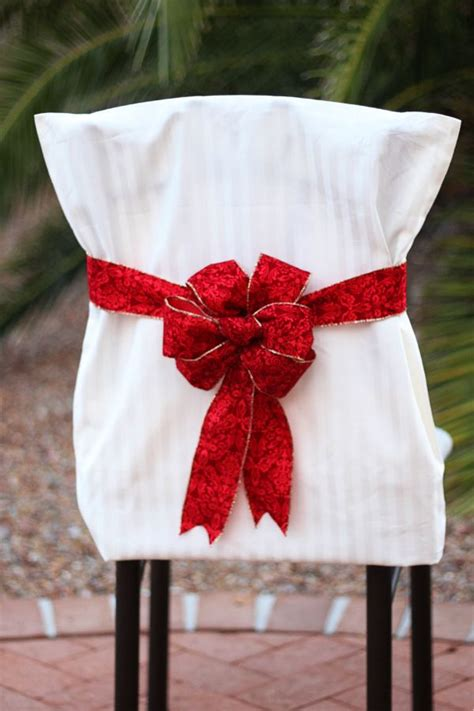 Diy-Holiday-Chair-Covers