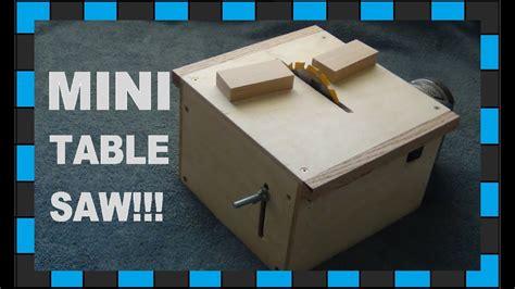 Diy-Homemade-Mini-Table-Saw