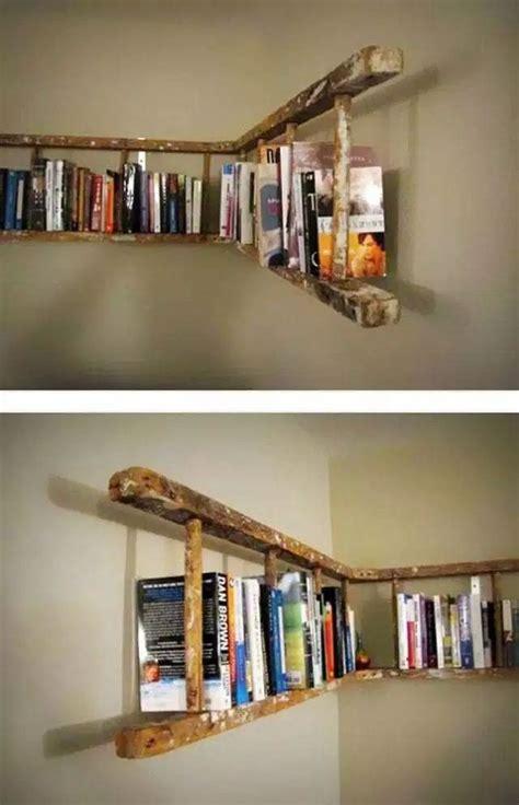 Diy-Horizontal-Ladder-Shelf