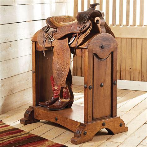 Diy-Horse-Saddle-Rack