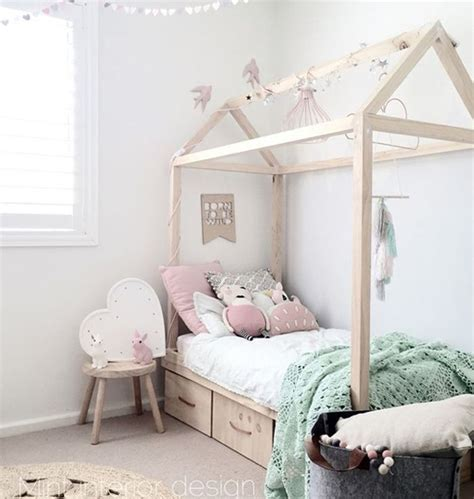 Diy-House-Shaped-Bed-Frame
