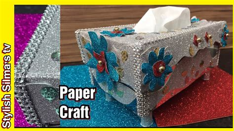 Diy-How-To-Decorate-A-Cardboard-Tissue-Box