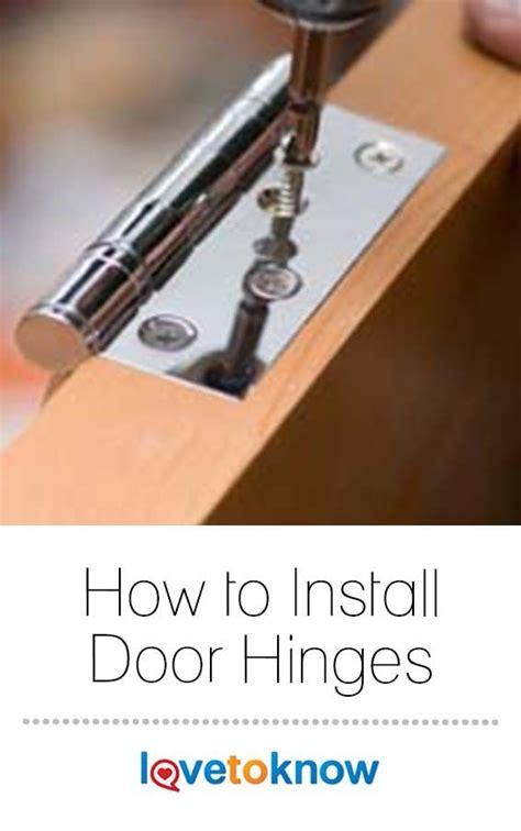 Diy-How-To-Install-Door-Jinges