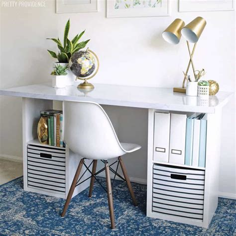 Diy-Ikea-Desk-Hacks