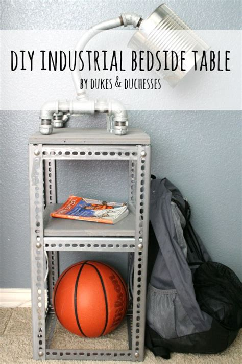 Diy-Industrial-Bedside-Table