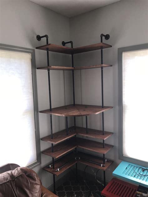 Diy-Industrial-Corner-Shelf