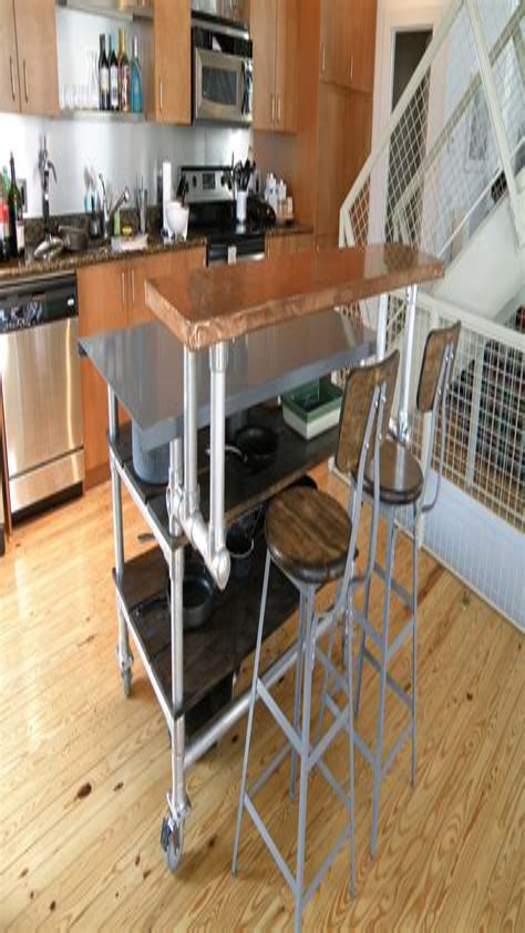 Diy-Industrial-Kitchen-Island-Design