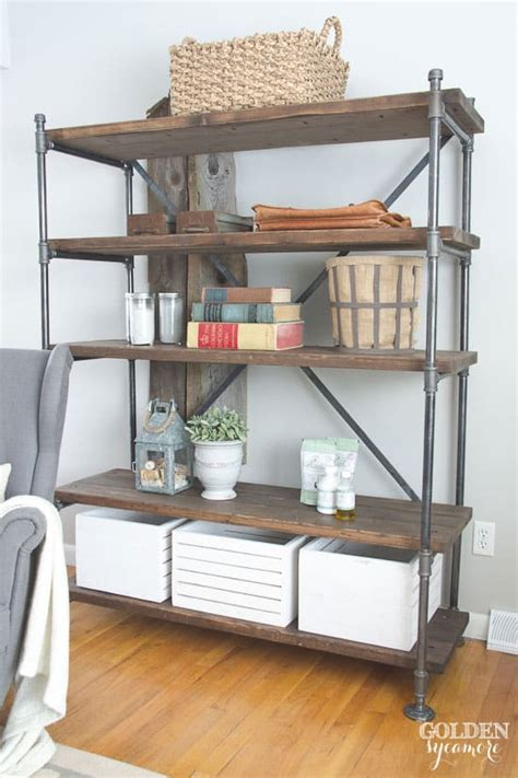Diy-Industrial-Pipe-Shelving-Unit