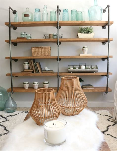 Diy-Industrial-Shelves