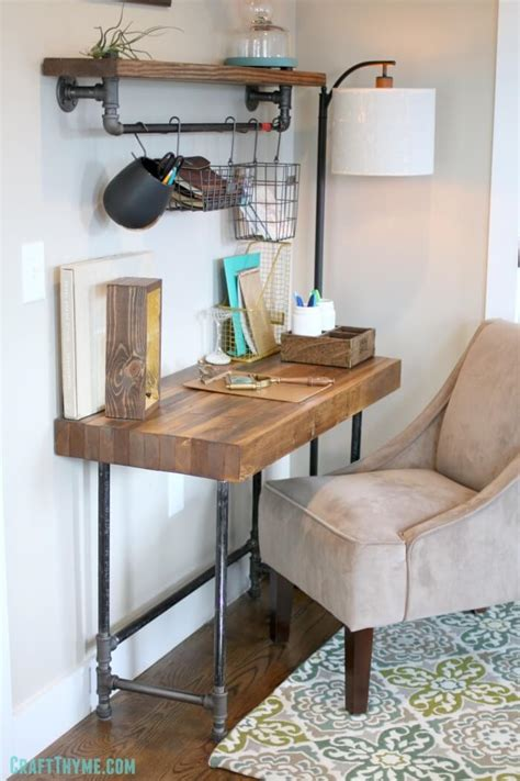 Diy-Industrial-Style-Desk