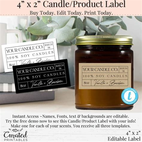 Diy-Ingredient-Labels