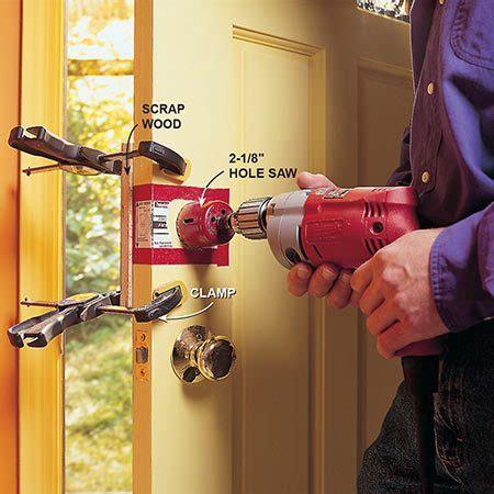 Diy-Install-Deadbolt-On-Motorhome-Door