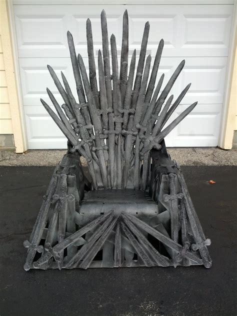 Diy-Iron-Throne-Chair