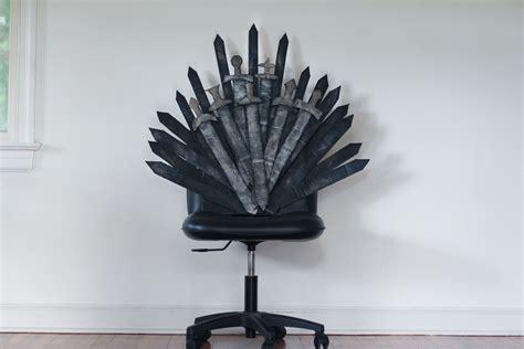 Diy-Iron-Throne-Office-Chair