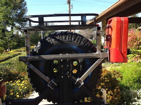Diy-Jeep-Tire-Bike-Rack