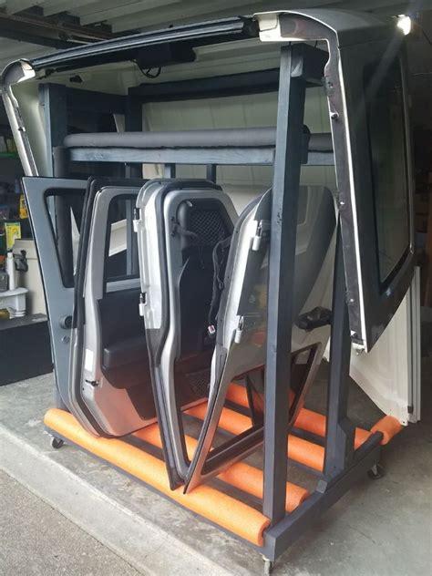 Diy-Jeep-Wrangler-Door-Rack