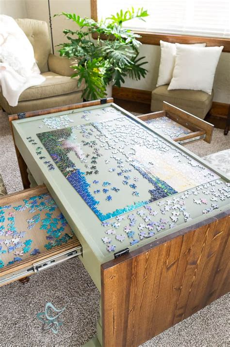 Diy-Jigsaw-Table