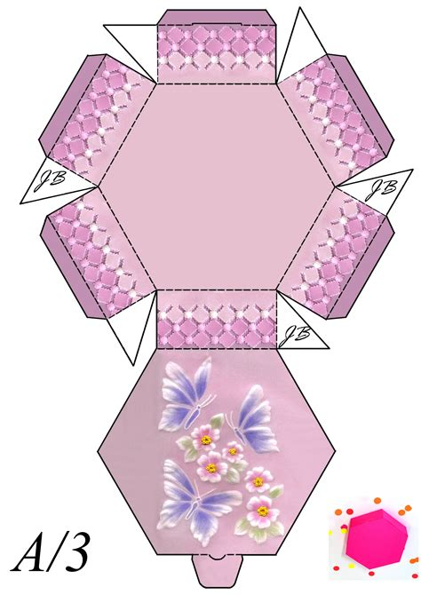 Diy-Kawaii-Gift-Box-Template