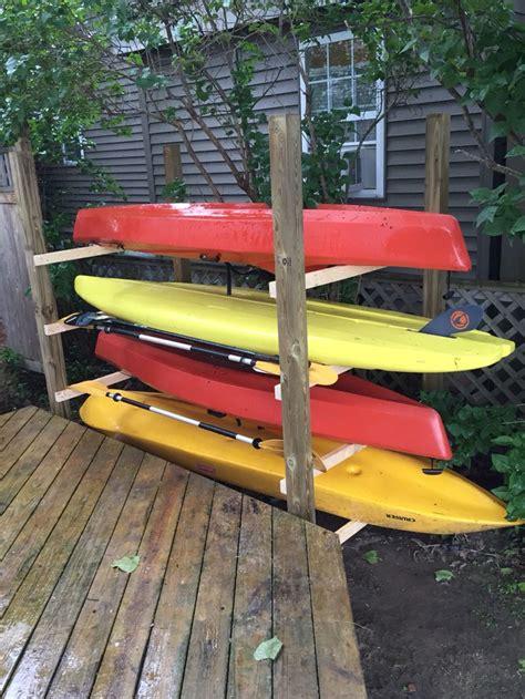 Diy-Kayak-Paddle-Board-Rack