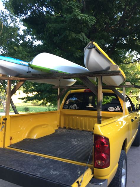 Diy-Kayak-Rack-For-Truck