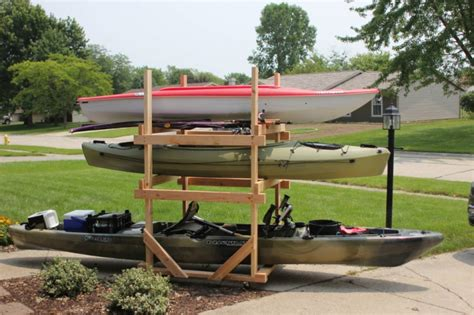Diy-Kayak-Rack-With-Wheels