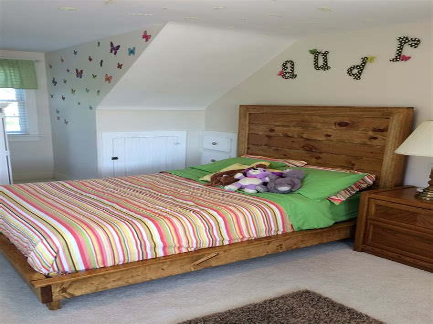 Diy-Kid-Platform-Bed-Plans