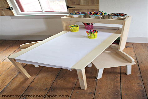 Diy-Kids-Craft-Table
