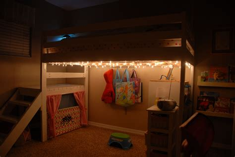 Diy-Kids-Lighting-For-Loft-Bed