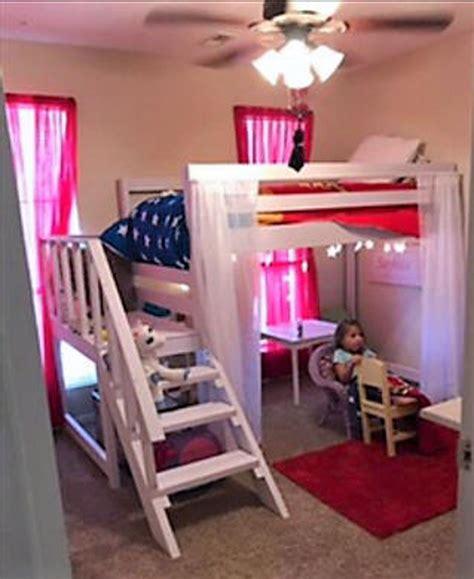 Diy-Kids-Loft-Bed-With-Platform