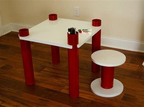 Diy-Kids-Stool-Table