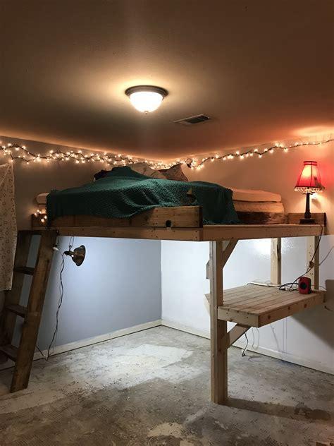 Diy-King-Size-Loft-Bed