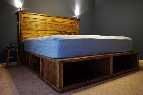 Diy-King-Size-Platform-Bed-With-Storage-Cost