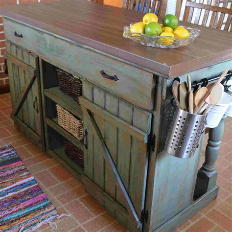 Diy-Kitchen-Island-Made-From-Pallets