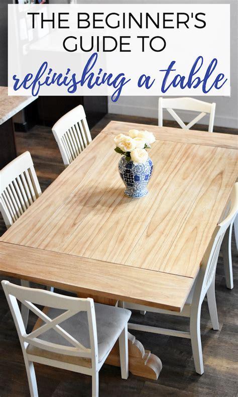 Diy-Kitchen-Table-Refinishing
