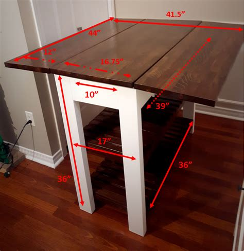 Diy-Kitchen-Table-With-Leaf