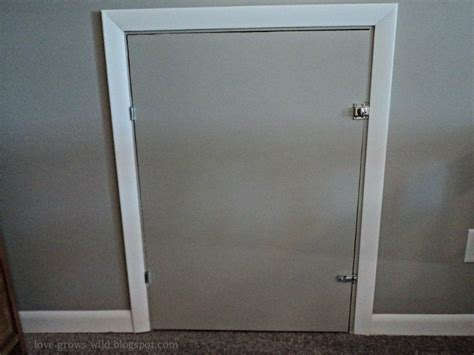 Diy-Knee-Wall-Access-Door